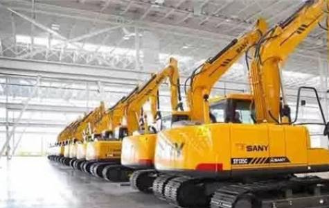 SANY excavator wins the domestic sales champion in...